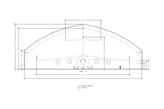 Supa-Span Straight Hangar