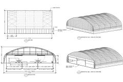 Supa-Span Curved Hangar