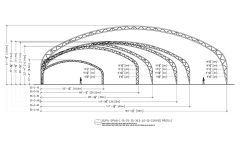 Supa-Span Curved Drawing